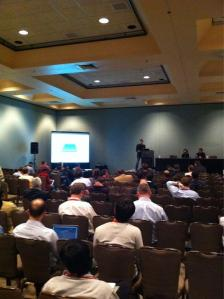 Joe Arnold presenting commercialization of OpenStack Object Storage